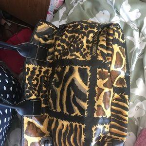 Dooney & Bourke leopard print tote